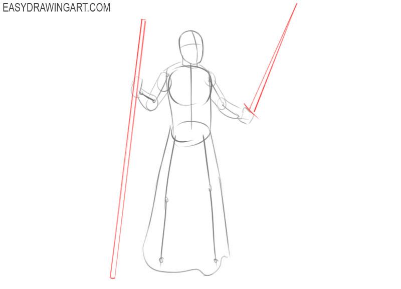 Wizard drawing tutorial